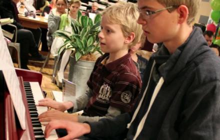 Duolessen piano muziekschool Boedijn