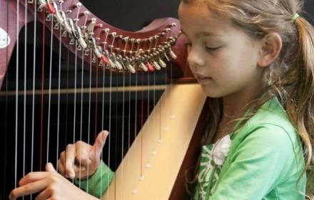 Pien harp