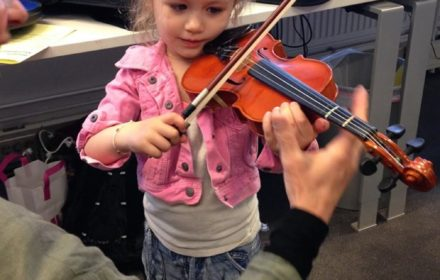 open dag viool