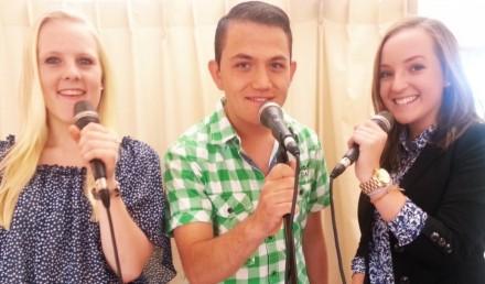 Mike, Dana en Melissa