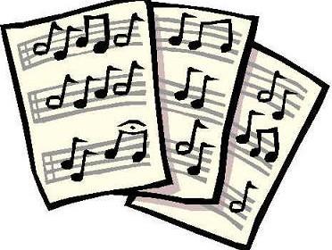 bladmuziek plaatje