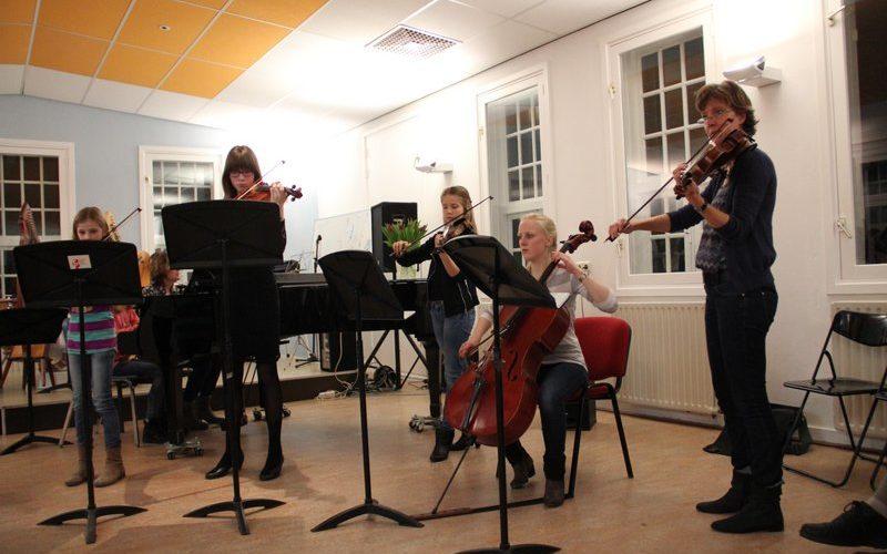 familie voorspeelavond muziekschool Boedijn te Hoorn (2)