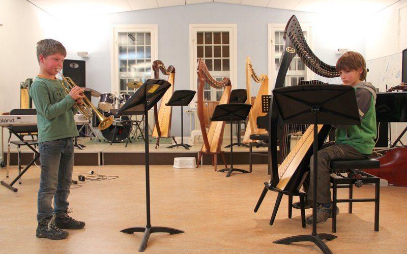 familie voorspeelavond muziekschool Boedijn te Hoorn