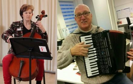 Berna en Henk muziekschool Boedijn Hoorn
