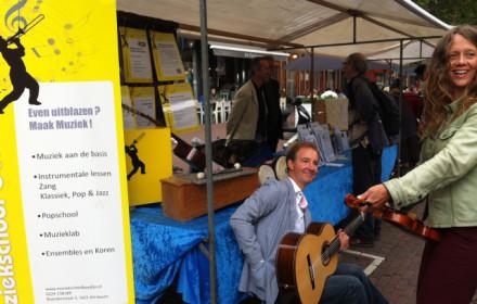Muziekschool Boedijn op de Kunst en Cultuurmarkt Hoorn