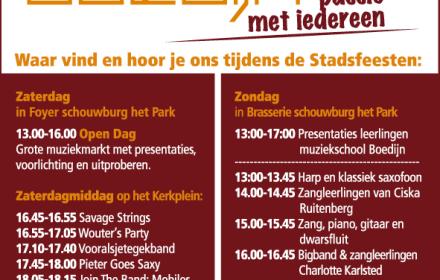 programma open dag 2016