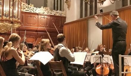 regio-orkest muziekschool Boedijn in de Oosterkerk